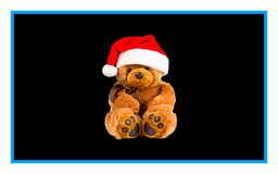 圣诞节与玩具的例证设计 向量例证