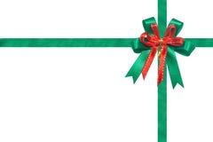 圣诞节丝带 免版税库存图片