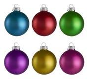 圣诞节中看不中用的物品球 库存图片