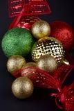 圣诞节中看不中用的物品 库存图片