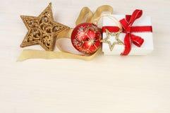 圣诞节主题的背景 图库摄影