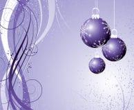 圣诞节主题 皇族释放例证