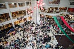 圣诞节义卖市场 库存照片