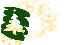 圣诞节乐趣问候 免版税库存图片