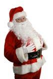圣诞节传统的圣诞老人 免版税库存照片