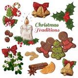 圣诞节传统 免版税库存照片