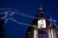 圣诞节伦敦王子剧院威尔士 免版税图库摄影