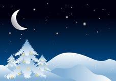 圣诞节例证冬天 库存图片