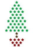 圣诞节例证结构树 免版税图库摄影