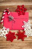 圣诞节信包冷杉节假日霍莉例证信笺纸向量 库存照片