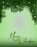 圣诞节信头背景 向量例证