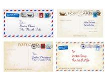 圣诞节信件 免版税库存照片