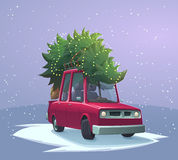 圣诞节假日卡片 图库摄影