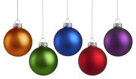 圣诞节假日球 库存照片