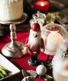 圣诞节假日装饰特写镜头  库存照片