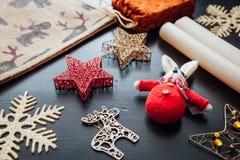 圣诞节假日装饰 库存图片