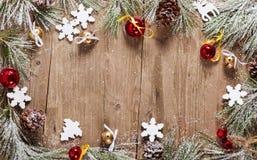 圣诞节假日装饰 免版税库存照片