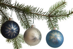 圣诞节停止的装饰品 库存照片