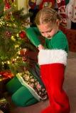圣诞节储存惊奇 库存图片