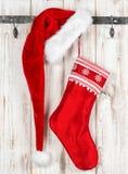 圣诞节储存 葡萄酒样式装饰 免版税库存照片