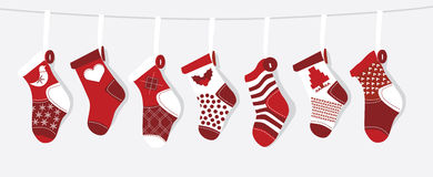 圣诞节储存 免版税库存照片