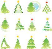 圣诞节元素集 库存图片