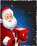 圣诞节克劳斯・圣诞老人 库存照片