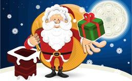 圣诞节克劳斯・圣诞老人 免版税库存图片