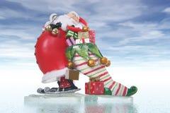 圣诞节克劳斯・圣诞老人 库存图片