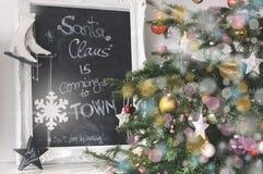 圣诞节克劳斯装饰圣诞老人 免版税图库摄影