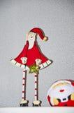 圣诞节克劳斯・圣诞老人 图库摄影