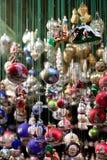 圣诞节公平的销售额玩具 库存照片