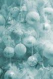 圣诞节典雅的毛皮结构树 免版税库存图片