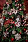 圣诞节内部背景 图库摄影