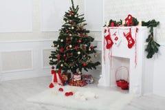 圣诞节内部 库存图片