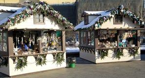 圣诞节冬天想知道在Manege广场的市场 库存照片