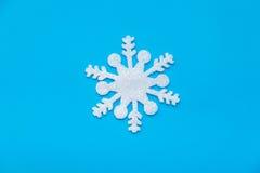 圣诞节冰晶 免版税库存照片