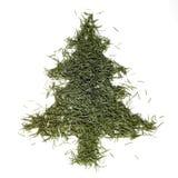 圣诞节冷杉针结构树 库存照片