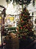 圣诞节几乎在这里 库存图片