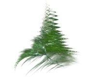 圣诞节分数维结构树 图库摄影