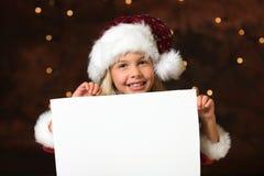 圣诞节列表愿望 免版税库存照片