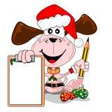 圣诞节列表愿望 库存图片