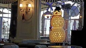 圣诞节创造性的装饰商店假日 免版税库存图片