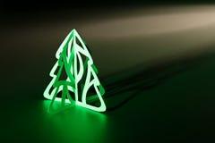 圣诞节剪切纸张结构树 免版税库存图片