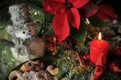 圣诞节功能照片 免版税库存图片