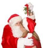 圣诞节北部当事人极 库存照片