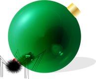 圣诞节反映 库存例证