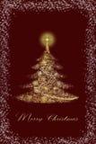 圣诞节发光 向量例证