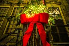 圣诞节古典装饰元素设计特写镜头 免版税库存照片