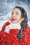 圣诞节可爱我 库存图片